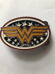 DC-Comics-WONDER-WOMAN-Logo-BELT-BUCKLE-Collectible-Cosplay-gift-Justice-league