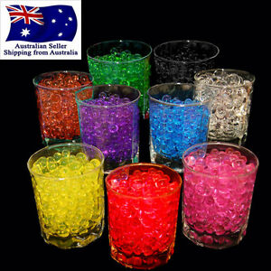 10g 2kg Crystal Soil Water Beads Jelly Ball For Vase Home Wedding