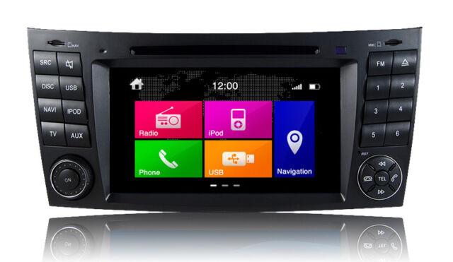 Dynavin N6-MBE Mercedes W211/W219 E-Class/CLS-Class DVD/iPod/Nav/Bluetooth/USB