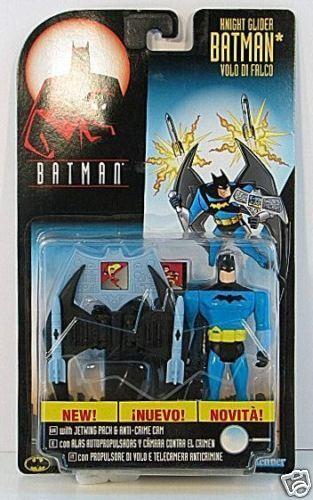 EUROPEAN Batman Animated KNIGHT GLIDER BATMAN RARE MOC
