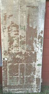 vintage antique architectural wooden door 34 5 x 79