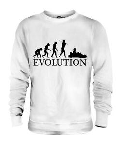 KART-KARTSPORT-EVOLUTION-DES-MENSCHEN-UNISEX-SWEATER-PULLOVER-PULLI-HERREN-DAMEN
