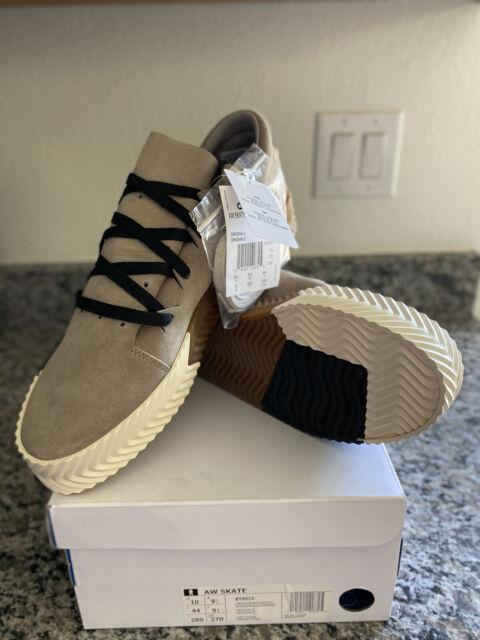 Size 10 - adidas AW Skate Light Grey 2017