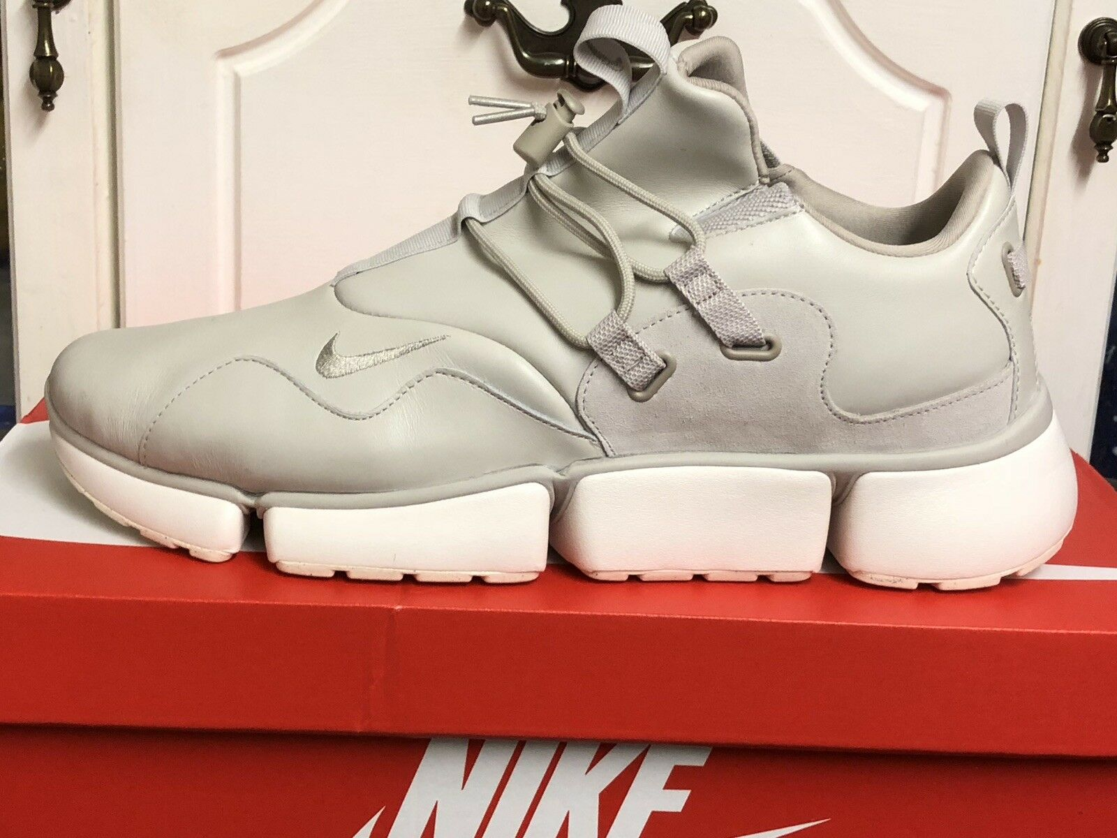 96a26f76f18 Nike POCKETKNIFE DM LEATHER MENS SNEAKERS SHOES US 15 TRAINERS  nxrvkz8455-Athletic Shoes
