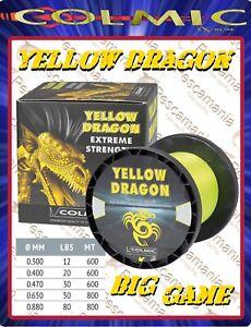 Monofilo-Giapponese-Colmic-Yellow-Dragon-siliconato-traina-big-game-mt-800