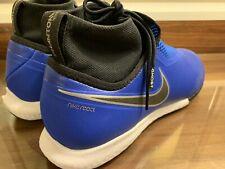 Nike React Phantom VSN Pro DF IC Ao3276-400 Soccer Shoes Indoor Size 9 ACC