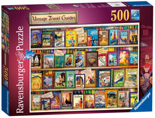 14752 Ravensburger Vintage Travel Jigsaw 500pcs Puzzle Adult Children 10yr+