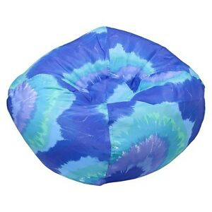 Small Tye Dye Bean Bag Chair Blue Ace Bayou Ebay