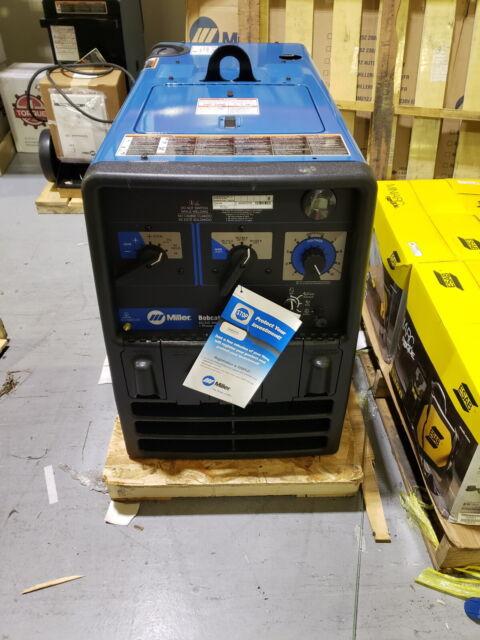 Cosmetically Repaired Miller Bobcat 3 phase Engine Welder/Generator (907505)