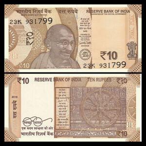 P 111 UNC India 50 Rupees 2018 no letter