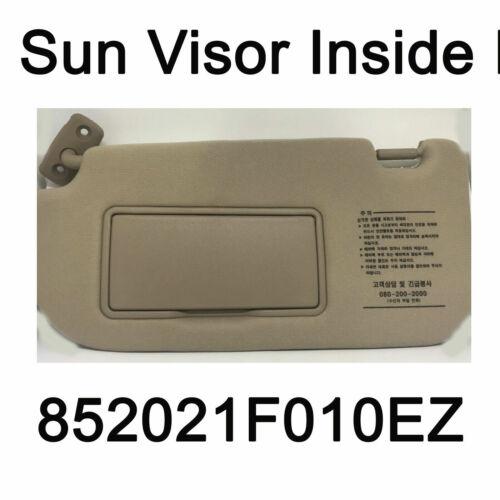 Genuine Sun Visor Inside Left LH Beige Oem 852021F010EZ For KIA Sportage 05-10