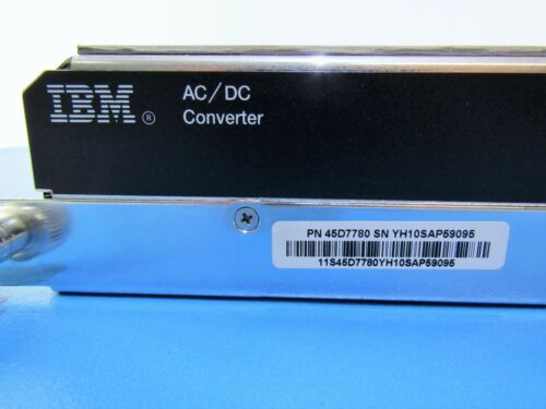 IBM 45D7780 9119 2C7B BULK POWER REGULATOR AC//DC CONVERTER FOR POWER7 SERVER