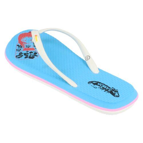 Ladies Kimono  toe post flip flops 3 colours available by Samoa  Price £5.99