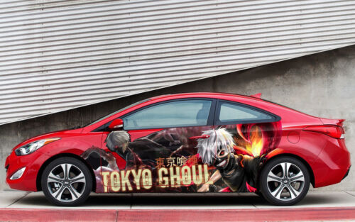 Tokyo Ghoul #2 Anime Car Side Wrap Color Vinyl Sticker Decal Fit Any Car