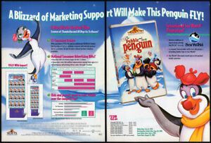 THE-PEBBLE-AND-THE-PENGUIN-Original-1995-Trade-print-AD-promo-DON-BLUTH
