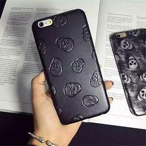Ultrathin-Soft-Synthetic-Leather-Skull-Phone-Case-Cover-For-iPhone-6-6-Plus