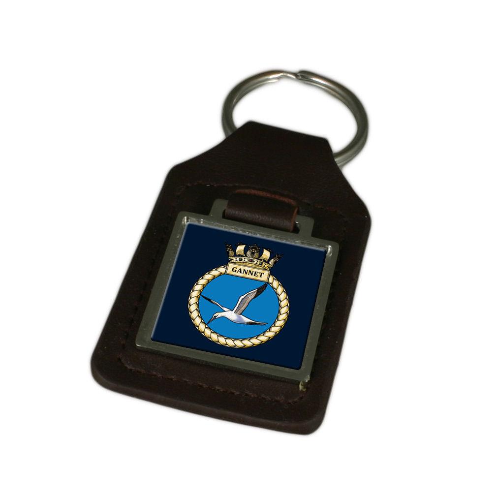 Königliche Königliche Königliche Marine Gannet Graviert Schlüsselanhänger aus Leder   Deutschland Berlin  80f73b