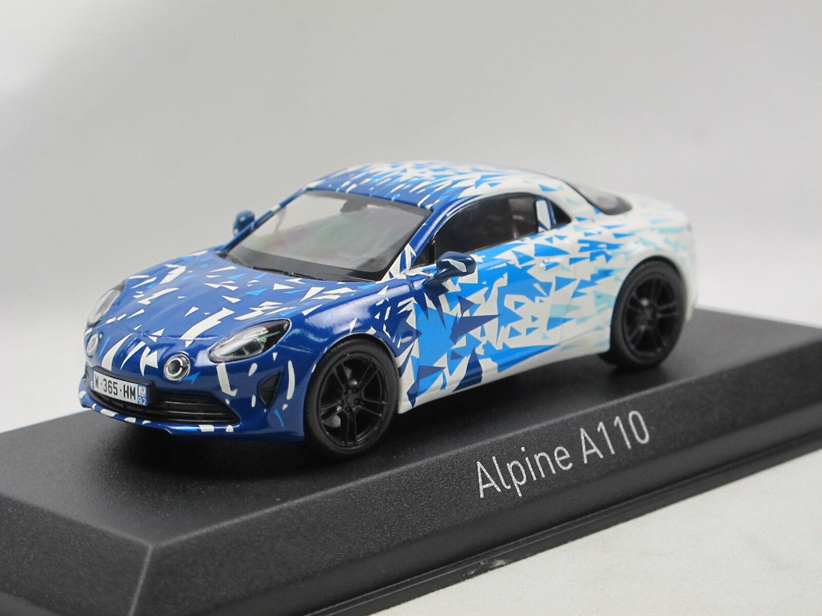 al precio mas bajo Norev 517863-Renault Alpine Alpine Alpine a110 versión de prueba 2017 blanco azul 1 43 Limited ed.  ventas en linea