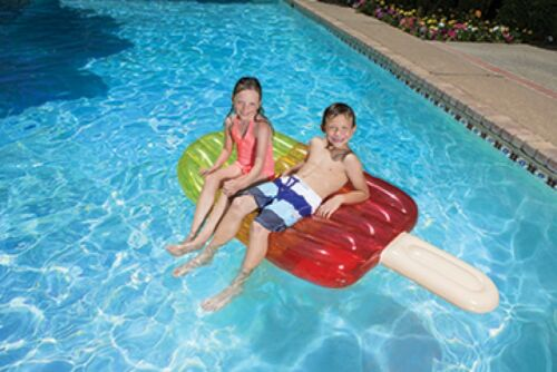PoolMaster Swimming Pool Inflatable Tri-Colored Popsicle Float For Kids