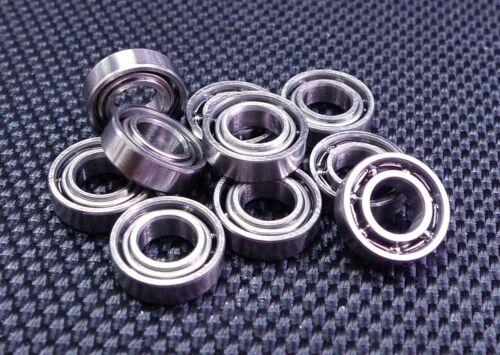 Metal OPEN PRECISION Ball Bearing PICK YOUR QUANTITY 5x10x3 mm MR105