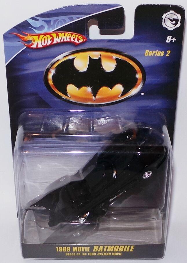 Batman 1989 version  Batmobile Die Cast Model par HOT WHEELS en 2008 (XP)