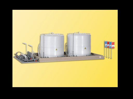 Kibri Twin Fuel Storage Tanks HO Scale MIB
