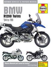 BMW R1200 R1200GS R1200R RT 2004-09 Haynes Manual 4598 NEW