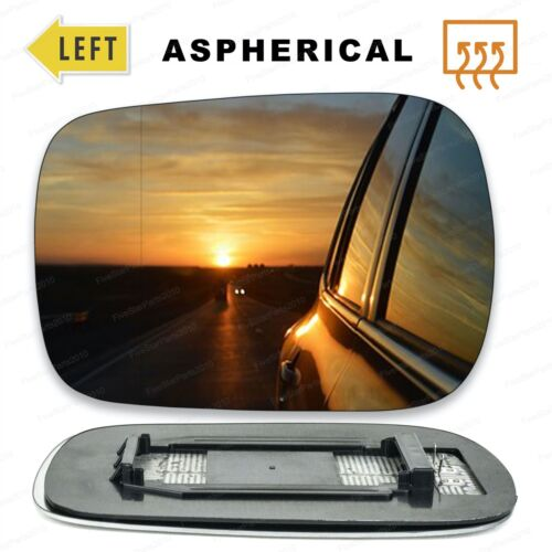 Left side Wide Angle wing mirror glass for Volvo Xc90 2002-2006 Heated