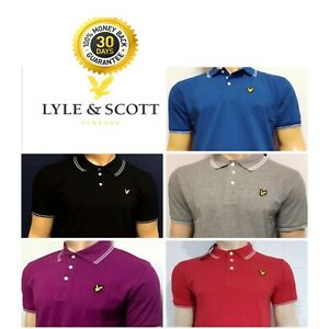 Lyle-and-Scott-Short-Sleeve-Polo-Shirt-For-Men-039-s-Late-Fall-Sale