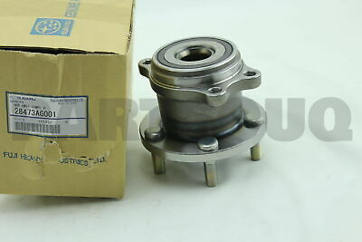 AWD ONLY 2x 590119 REAR Wheel Hub Bearing Units For 00-09 Subaru Legacy Outback