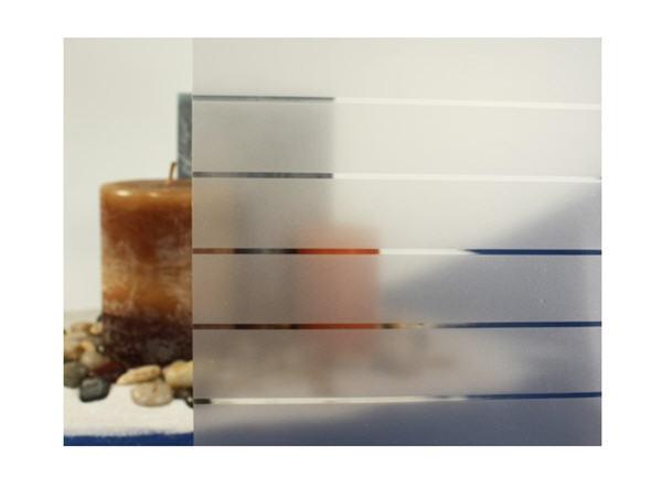 Frosted Lines Static Cling Window Window Window Film, 36  Wide x 6.5 ft 526e1f