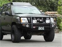 Arb 4x4 Accessories Black Xterra Deluxe Bull Bar Winch Mount Bumper 3438270 on sale