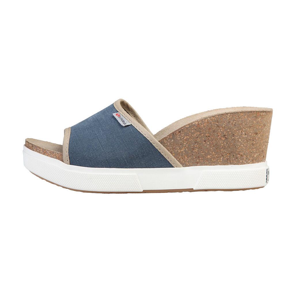 Superga S31P676_blue Womens shoes, Mules, Sandals, Clogs, EU 38-41