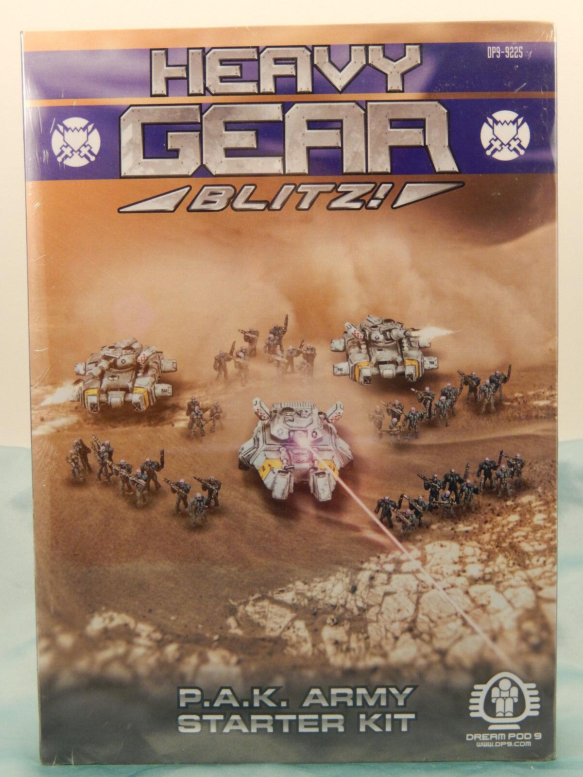 Heavy Gear Blitz  Pak Ejército Starter Kit (Caja de arranque)  Totalmente nuevo Sellado  DP9