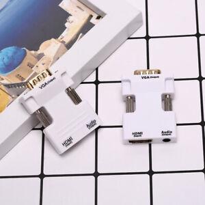 VGA-To-HDMI-Adapter-Full-HD1080P-Audio-Video-Converter-Laptop-PC-To-TV-AV-HDTV2Y