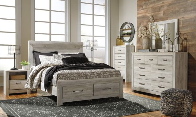 Ashley Furniture Bellaby 7 Piece Queen Storage Bedroom Set