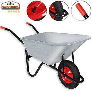 Citomerx® Schubkarren Ersatzrad mit Achse Metalfelge Rad Luftrad Gartenkarre NEU