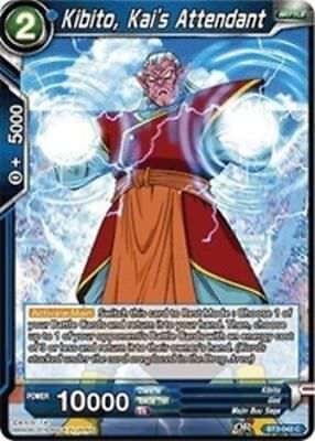 Powers Combined BT3-043 x4 4x Cards Dragon Ball Super CCG Mint Kibito Kai