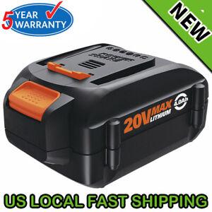 WA3578-For-WORX-WA3575-20V-Lithium-Ion-Battery-4-0Ah-WA3520-WA3525-WG160-4-WG163