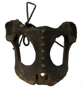 Antico Maschera Tibetano Esercizi Raro -rituale Sciamano Tim Nepal 9943