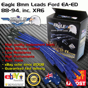 Eagle-8mm-Ignition-Spark-Plug-Leads-Fits-Ford-Falcon-Fairlane-EA-ED-88-94-6cyl