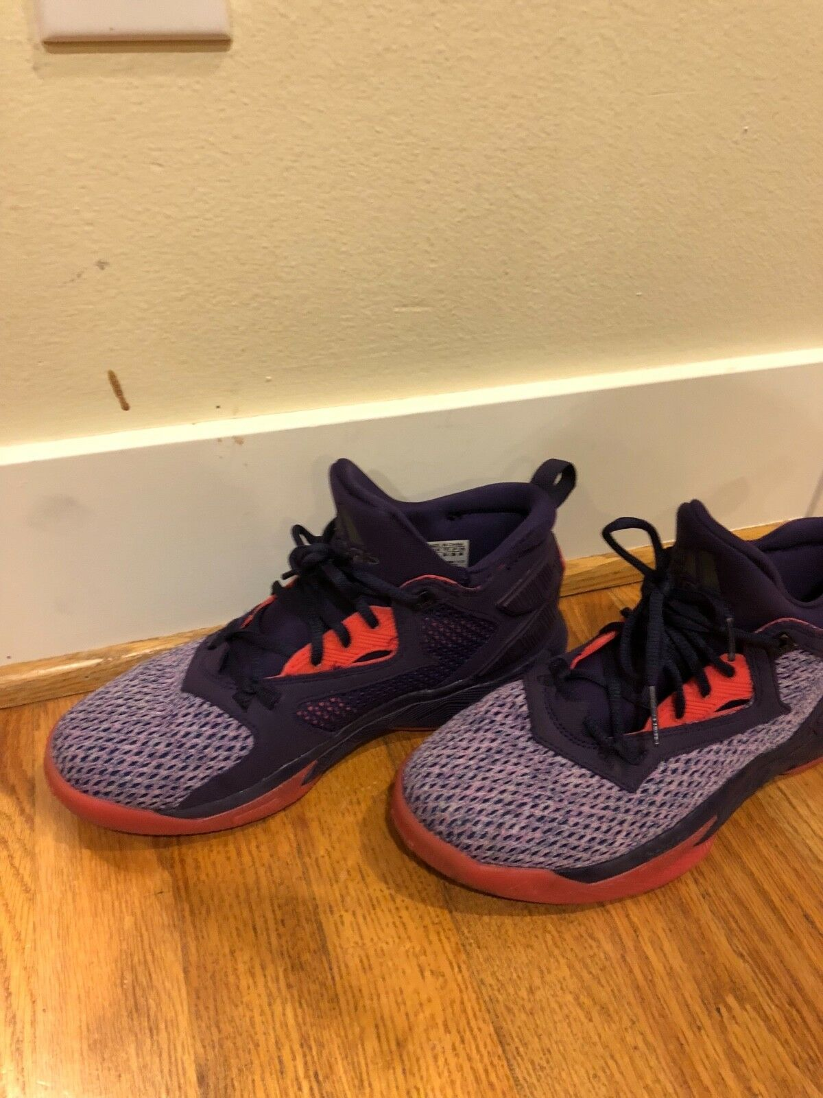 Dame 2, size 6.5 mens shoes, purple