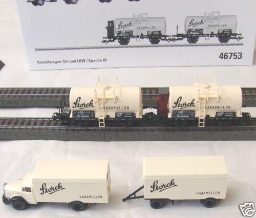 46753 Caldaia Carrello-Set e camion  neu in OVP