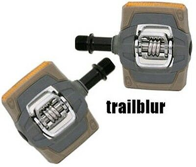 Crank Brothers Reflect Smarty Clipless Pedals egg beater *NEW* - eggbeater gray