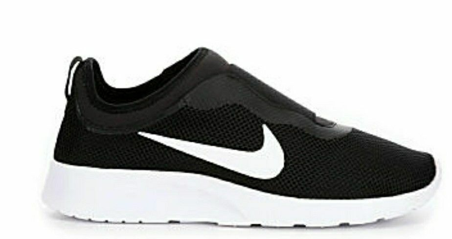 Nike Women's Shoes Tanjun Slip BLACK Sneakers 902866-002 SIZE 12 (29CM)