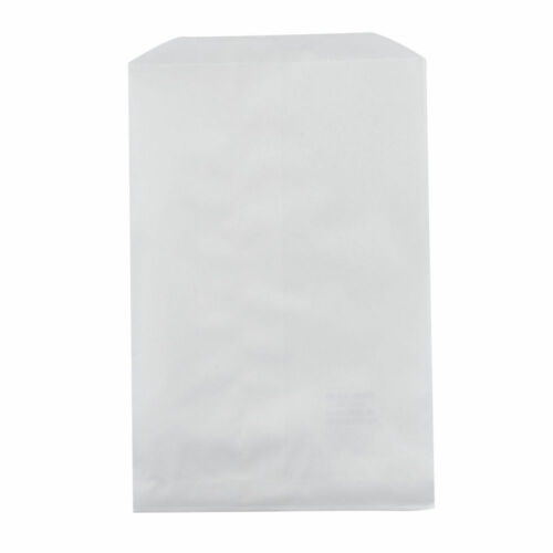 """Candy Buffet or Merchandise  Bags 100 White Paper Bags 6.25 x 9.25 /"""""""