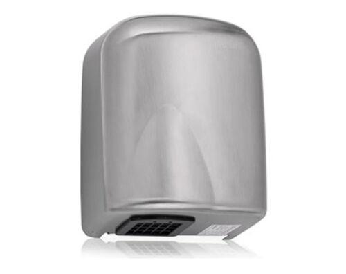 automatisch Elektrischer Händetrockner Silbermatte 2500W 285x225x165mm Stahl