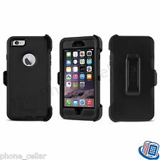 New OEM Otterbox Defender Series Black Shell Case Apple iPhone 6 Plus +/6S Plus