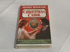 Henry Winkler An American Christmas Carol RARE SEALED VHS movie tape Goodtimes