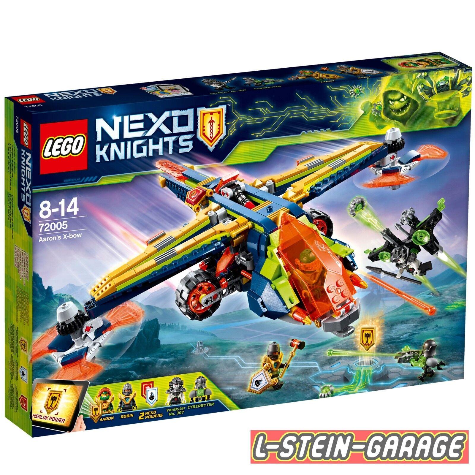 LEGO® Neto Knights Set Set Set 72005 Aarons Armbrust NEU & OVP d70fc9